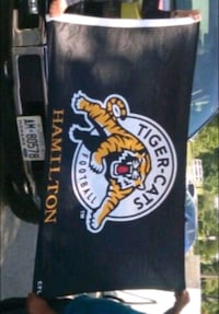 Hamilton tiger cats flag Hamilton