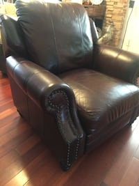 Leather recliner chair  Richmond