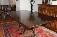 CHERRY WOOD DINNING ROOM TABLE And CHEAPANDALE CHAIRS Vienna