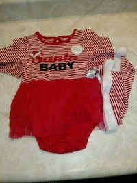 Babies 6-12 month christmas dress London, N5Z 4T1