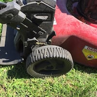 Red and black Craftsman lawnmower 150cc Rear Wheel Drive Lawnmower Norfolk, 23518