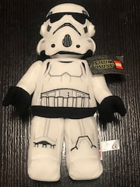 """LEGO Star Wars 13"""" Storm Trooper Plush Toy 2019 Collectible"""
