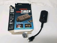 Outdoor Timer w/ Grounded Plug 64 km