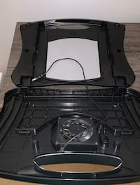 MAX SMART Lapdesk with Attached Mouse Pad, Cushion and USB Cooling Fan