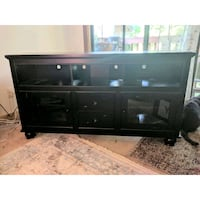 Decorarive Black Wooden Media Center Portland, 97205