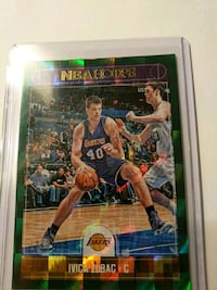 Lakers Ivica Zubac parallel card Paramount, 90723