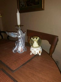 Angel candle holder and music box globe Bessemer, 35020