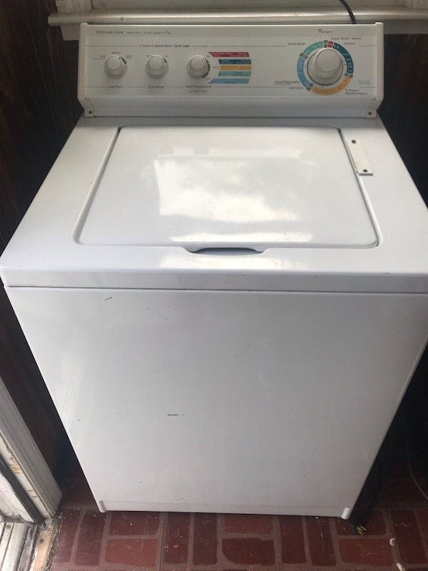 Washing machine in good working order