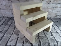 New Rustic Farmhouse Steps All Natural 3 steps Mission