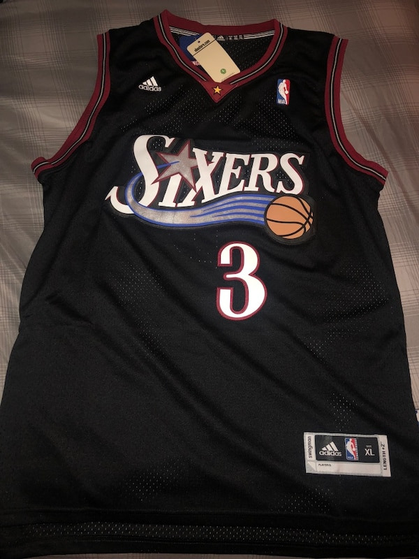 eb0cb15f Used Adidas allen iverson Jersey for sale in Rochester - letgo