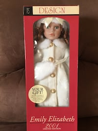 Doll Porcelain by PS, brand new in box San Leandro, 94578
