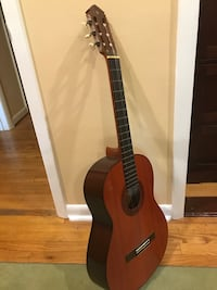 Brown and black classical guitar Annandale, 22003