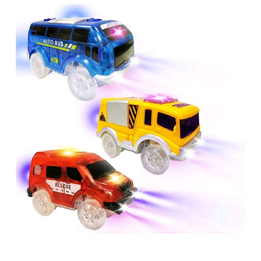 New Tracks Cars Replacement Light Up Toy Car Track