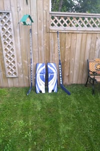 "New goalie pads Reebok 34"" and 2 Koho 500 sticks l Edmonton, T5A 3S4"