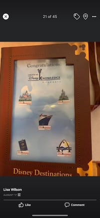 Disney College of Knowlege pin set