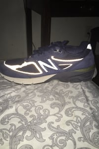 All blue new balances