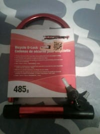 brand new Bicycle u-lock 2 sets of keys Toronto, M9W