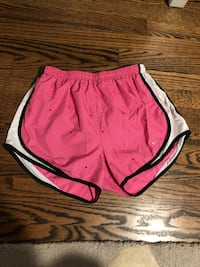 Pink and black size medium running shorts  Wadsworth, 44281