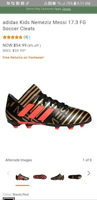 Messi soccer cleats Roseville, 95747