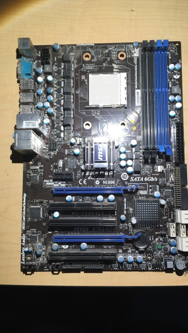 MSI AM3 HT3 MotherBoard