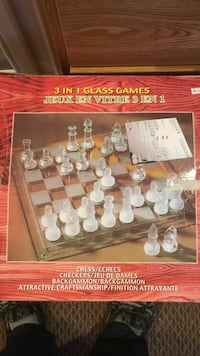 3 in 1 glass games Toronto, M8W 4A4
