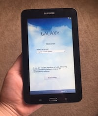 Samsung galaxy tab 3 lite sm-t110 just like brand new no scratches no cracks it's in perfect condition normally $80 Adamstown, 21710