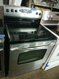 white and black induction range oven Baltimore, 21223