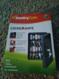 black Sentry Safe locked safe box Las Vegas, 89119