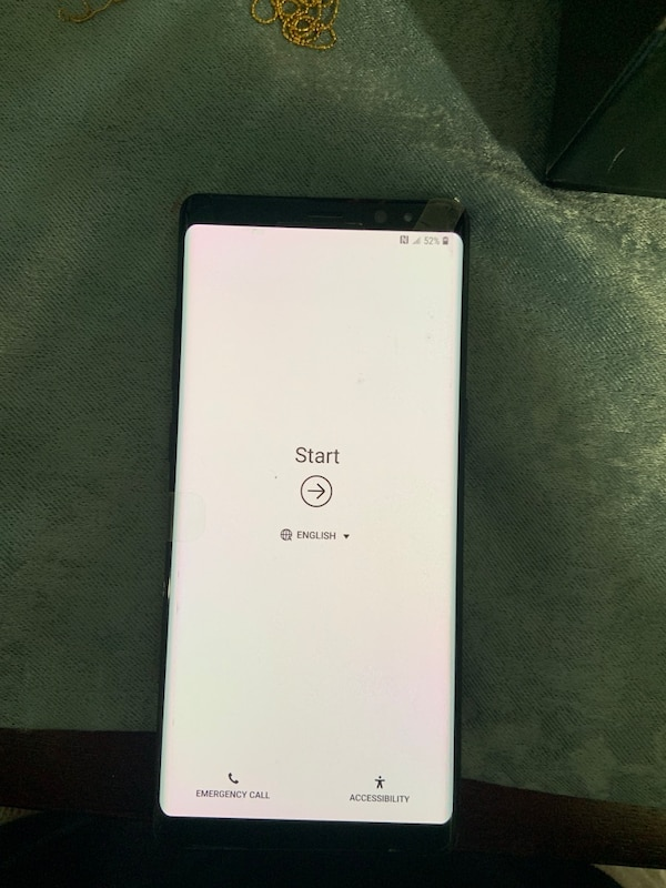 Samsung Galaxy Note 8, Factory UNLOCKED //Usable with Company Carrier//NEVER USED