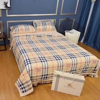 white and blue plaid bed comforter 多伦多, M2N 1G5