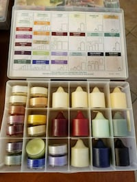 Partylity Fragrance Sampler Boxes with candles Orange, 92865