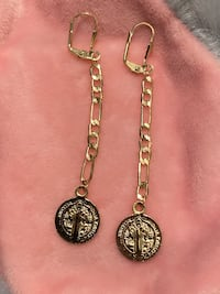 San Benito Gold Plated Earrings