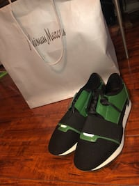 Black & Green Balenciagas Runners East Point, 30344
