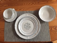 white ceramic plates and bowls Wells, 04090