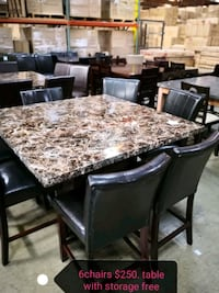 dinning table and chairs Chino