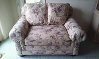 white and pink floral sofa chair Swartz Creek, 48473