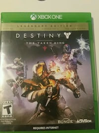 Destiny The Taken King Xbox One game case Mission, V2V 2S5