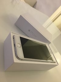 Silver iphone 6 med box