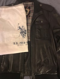 US Polo Men's Leather Jacket Uppsala, 753 21