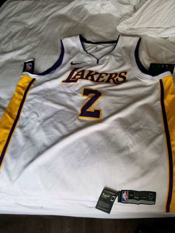 2c6dfb4c5 Used white and orange Nike basketball jersey for sale in Alameda - letgo