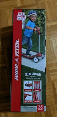radio flyer red scooter NEW IN BOX Toronto, M1C