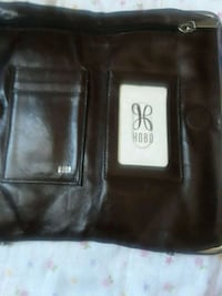 black leather bi-fold wallet Leeds, 35094