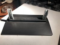 black and white wooden TV stand Saint Clair Shores, 48080