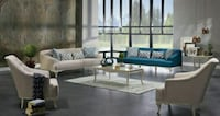 Estonya 4-Piece Living Room Set by Bellona [ETA: 1 Houston