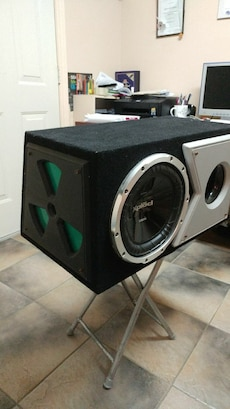 """10"""" Sony Sub In ported box."""