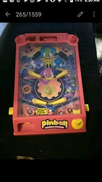 Pac-Man pinball one and a half feet by 1 ft Tulsa, 74135