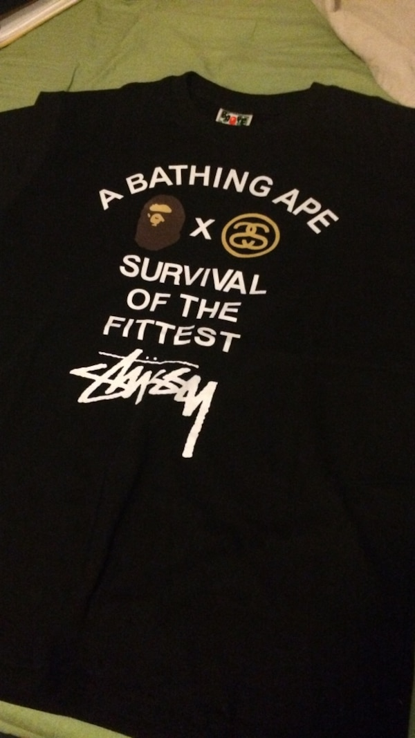 dd685be60 Used BAPE x STUSSY T-Shirt for sale in Towson - letgo