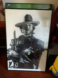 Clint Eastwood poster  Clearfield, 84015