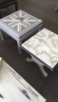 rectangular white wooden coffee table Richmond Hill, L4B
