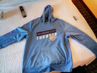 blue and black Nike pullover hoodie Oklahoma City, 73108